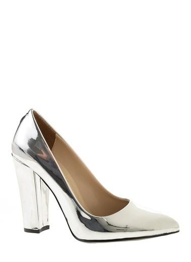Derigo Topuklu Ayakkabı Gümüş